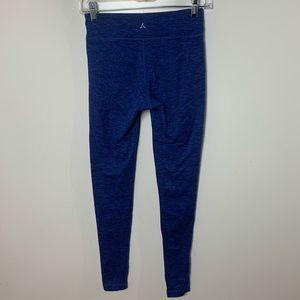 Aspire leggings marled blue full length women's xs